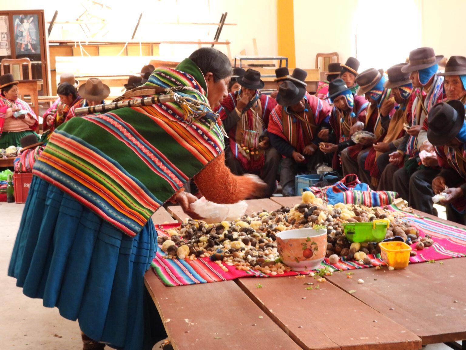 El Apthapi, una práctica de hermandad entre los Aymaras | Biodiversidad en América Latina