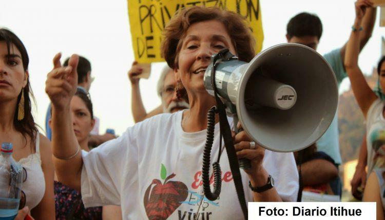 """Lucía Sepúlveda (RAP): """"Al estar en contra del tratado TPP, estamos defendiendo la agricultura familiar campesina"""""""