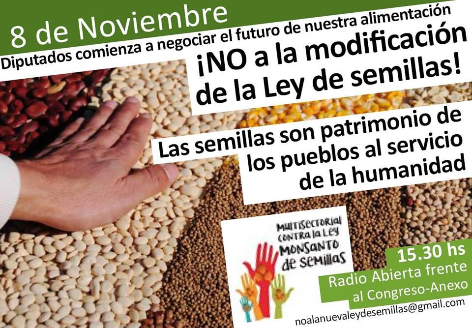 Radio abierta: El debate para modificar la Ley de Semillas comienza en Argentina este martes en la Comisión de Agricultura de Diputados   Biodiversidad en América Latina